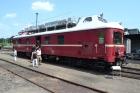 Oberleitungs-Revisions-Triebwagen (ORT) 188 202 vom Eisenbahnmuseum Dresden.